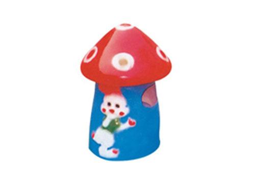 小蘑菇玻璃钢垃圾桶 hc9011