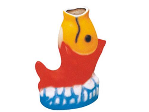 小鲤鱼玻璃钢垃圾桶 hc9012