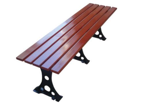 三脚支撑公园 园林休闲椅 HCY011 公园休闲椅,园林休闲椅,防腐木休闲椅,无靠背休闲椅