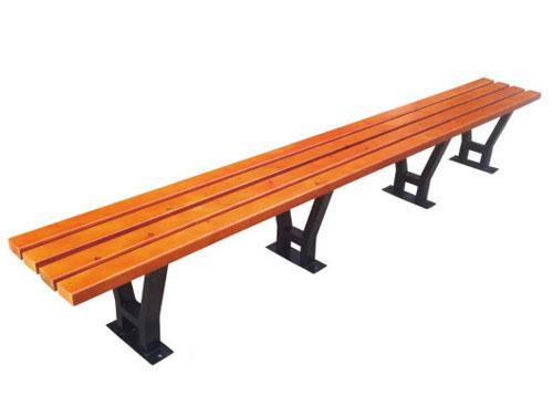四脚支撑公园 园林休闲椅 HCY012 公园休闲椅,园林休闲椅,防腐木休闲椅,无靠背休闲椅