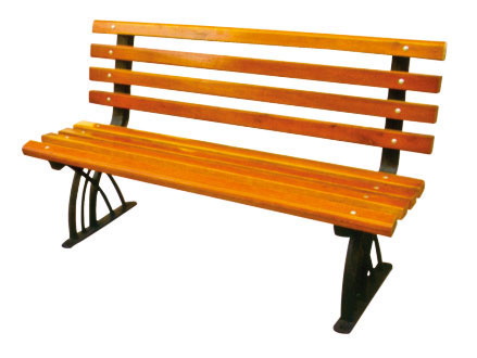 公园 园林休闲椅 HCY014 公园休闲椅,园林休闲椅,防腐木休闲椅,带靠背休闲椅
