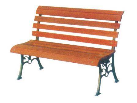 无扶手舒适公园 园林休闲椅 HCY016 公园休闲椅,园林休闲椅,防腐木休闲椅