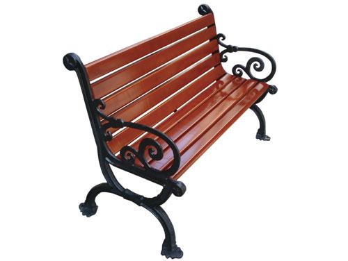 欧式靠背公园 园林休闲椅