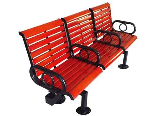 三座精致靠背公园 园林休闲椅 HCY050 公园休闲椅,园林休闲椅,防腐木休闲椅,靠背休闲椅