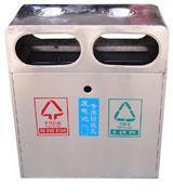 不锈钢分类垃圾桶 HC1001,不锈钢垃圾桶,分类垃圾桶,不锈钢分类垃圾桶
