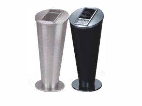 圆锥形坐地烟灰桶 室内垃圾桶 HC6027,室内垃圾桶,酒店用垃圾桶,烟灰缸垃圾桶,不锈钢垃圾桶