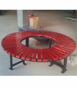 围树椅 圆围椅 园林休闲椅 HCY003,公园休闲椅,园林休闲椅,防腐木休闲椅,无靠背休闲椅,围树椅