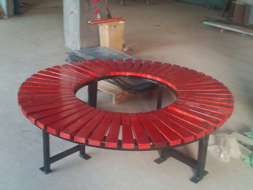 围树椅 圆围椅 园林休闲椅 HCY003 公园休闲椅,园林休闲椅,防腐木休闲椅,无靠背休闲椅,围树椅