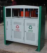 三分类顶投口方形烟灰盅钢制垃圾桶 HC2225,顶投口钢制垃圾桶,方形钢制垃圾桶,烟灰钢制垃圾桶