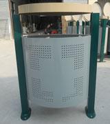 顶投口烟灰盅钢制分类垃圾桶 HC2246,顶投口钢制垃圾桶,烟灰盅钢制垃圾桶,钢制分类垃圾桶