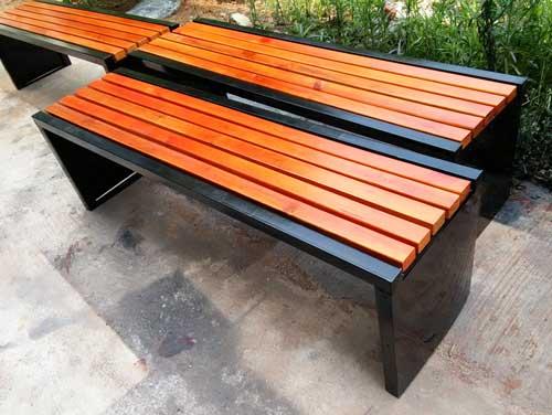 广场休闲椅长凳 HCY059 广场休闲椅,户外休闲椅,公园座椅,钢管座椅,实木休闲凳