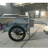 不锈钢手推垃圾车 HCC004,人力垃圾车,手推式垃圾车,冷轧钢板垃圾车,垃圾车