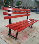 【环畅品牌】HCy058简易型公园座椅 小区休闲椅 木条长椅
