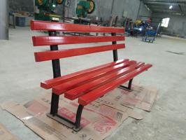 HCy058简易型公园座椅 小区休闲椅 木条长椅 公园椅,长凳,实木椅