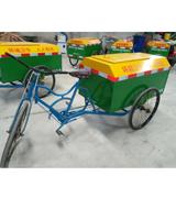 人力三轮不锈钢垃圾清运车 HCC003,垃圾车,人力三轮垃圾车,不锈钢垃圾车