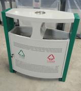 【环畅品牌】双侧投口方形烟灰盅钢制垃圾桶 HC2226