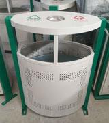 顶投口椭圆烟灰钢制垃圾桶 HC2227,顶投口钢制垃圾桶,钢制分类垃圾桶,钢制垃圾桶厂家