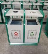 顶投口带盖烟灰盅分类钢板冲孔垃圾桶 HC2206,顶投口钢制垃圾桶,烟灰盅钢制垃圾桶,透气孔钢制垃圾桶
