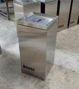 hc1027 不锈钢垃圾桶,商场垃圾箱,方形垃圾桶,环畅垃圾桶