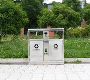 市政高档不锈钢垃圾桶 hc1032