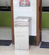 商场方形不锈钢垃圾桶 商场垃圾桶 摇盖不锈钢果皮箱,不锈钢垃圾桶,商场垃圾箱,方形垃圾桶,环畅垃圾桶