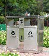 市政高档不锈钢垃圾桶 HC1032,HC1032,方形,高档,不锈钢,垃圾桶,