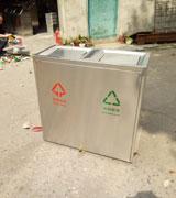 商场不锈钢分类垃圾桶 升级款(摇盖设计),不锈钢,分类,垃圾桶,
