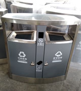 HC1033市政不锈钢分类垃圾桶,HC1033,市政,不锈钢,分类,垃圾桶,