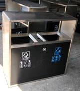 HC1202 不锈钢垃圾桶,定做不锈钢垃圾箱,不锈钢垃圾桶厂家