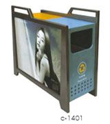 【环畅品牌】透气防臭广告垃圾桶 HC7015