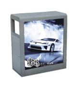 【环畅品牌】正方形广告垃圾桶 HC7024
