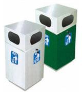 办公楼用不锈钢垃圾桶 HC1010,不锈钢垃圾桶,不锈钢单筒垃圾桶,楼道垃圾桶