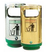 圆形单筒不锈钢垃圾桶 HC1013,不锈钢垃圾桶,圆形垃圾桶,不锈钢圆形单筒垃圾桶