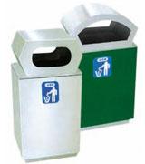 楼道不锈钢垃圾桶 HC1015,不锈钢垃圾桶,单筒垃圾桶,不锈钢楼道垃圾桶