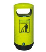 圆筒钢制垃圾桶 HC2001,钢制垃圾桶,单筒垃圾桶,圆筒垃圾桶