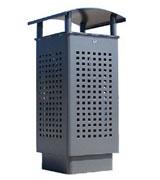 透气防臭钢制垃圾桶 HC2015,钢制垃圾桶,单筒垃圾桶,透气防臭垃圾桶