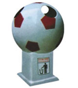 【环畅品牌】足球形玻璃钢yabo亚博体育下载 HC9004