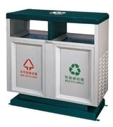 顶投口烟灰盅方形钢制垃圾桶 HC2223,顶投口钢制垃圾桶,烟灰钢制垃圾桶,方形钢制垃圾桶