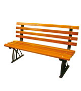 公园 园林休闲椅 HCY014,公园休闲椅,园林休闲椅,防腐木休闲椅,带靠背休闲椅