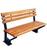 靠背公园 园林休闲椅 HCY015,公园休闲椅,园林休闲椅,防腐木休闲椅,靠背休闲椅