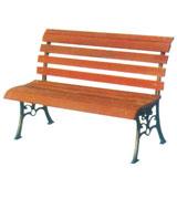 无扶手舒适公园 园林休闲椅 HCY016,公园休闲椅,园林休闲椅,防腐木休闲椅