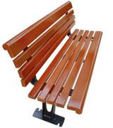 耐用防腐木公园 园林 小区休闲椅 HCY019,公园休闲椅,园林休闲椅,防腐木休闲椅,靠背休闲椅