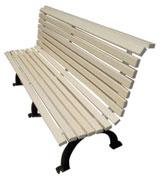 四脚公园 园林休闲椅 HCY020,公园休闲椅,园林休闲椅,防腐木休闲椅,靠背休闲椅