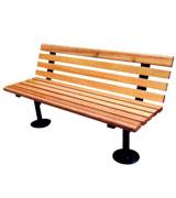 圆底公园 园林休闲椅 HCY021,公园休闲椅,园林休闲椅,防腐木休闲椅,靠背休闲椅