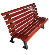 小区 公园 园林休闲椅 HCY030,公园休闲椅,园林休闲椅,防腐木休闲椅,靠背休闲椅