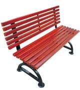 广场 公园 园林靠背休闲椅 HCY038,公园休闲椅,园林休闲椅,防腐木休闲椅,靠背休闲椅
