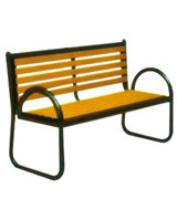 靠背式公园 园林休闲椅 HCY040,公园休闲椅,园林休闲椅,防腐木休闲椅,靠背休闲椅