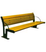 Y字形靠背公园 园林休闲椅 HCY041,公园休闲椅,园林休闲椅,防腐木休闲椅,靠背休闲椅