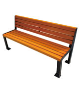 户外靠背公园 园林休闲椅 HCY044,公园休闲椅,园林休闲椅,防腐木休闲椅,靠背休闲椅