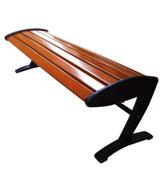 Z字形脚腿无靠背公园 园林休闲椅 HCY054,公园休闲椅,园林休闲椅,防腐木休闲椅,无靠背休闲椅